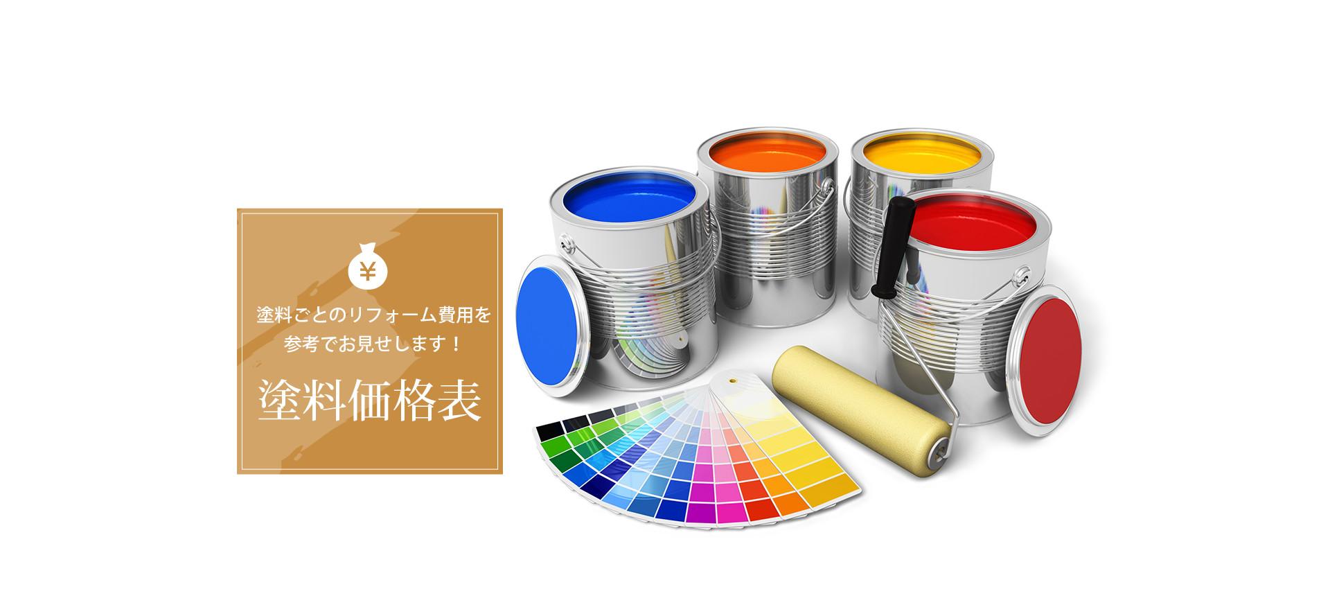 塗料価格表