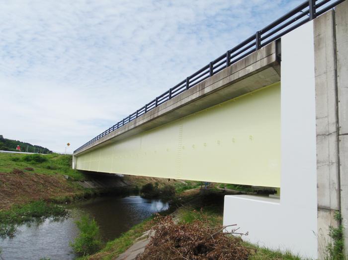 青森市 新杉沢橋 塗装工事