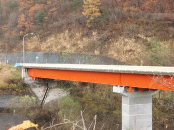 黒石市  国道102号地域水沢橋 活力基盤橋梁補修