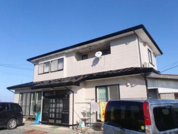 九戸郡 O様邸 外壁・屋根リフォーム事例