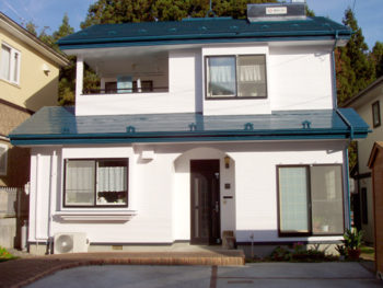 八戸市 E様邸 外壁・屋根塗装リフォーム事例