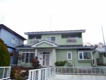 八戸市 O様邸 外壁・屋根塗装リフォーム事例
