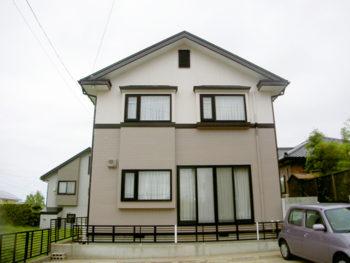 八戸市 W様邸 外壁・屋根塗装リフォーム事例