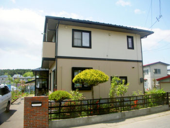 八戸市 F様邸 外壁・屋根塗装リフォーム事例