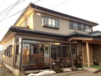 八戸市 M様邸 外壁塗装リフォーム事例