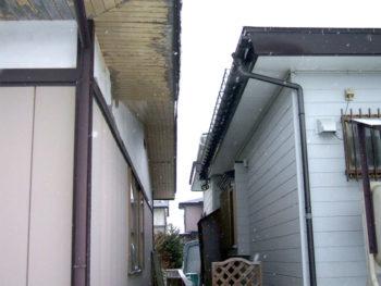 十和田市 T様邸 スノーガード取り付けリフォーム事例