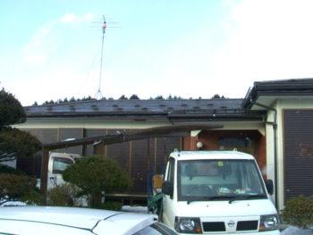 十和田市 S様邸 雪止め、落雪防止金物取り付けリフォーム事例