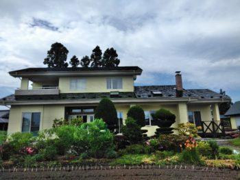 おいらせ町K様邸屋根外壁塗装工事