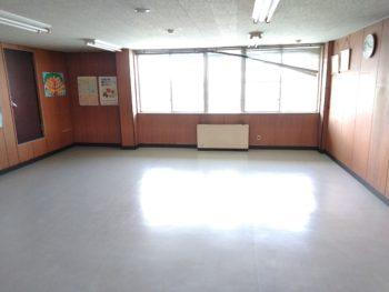 【八戸】給食センター様 内部床改修工事