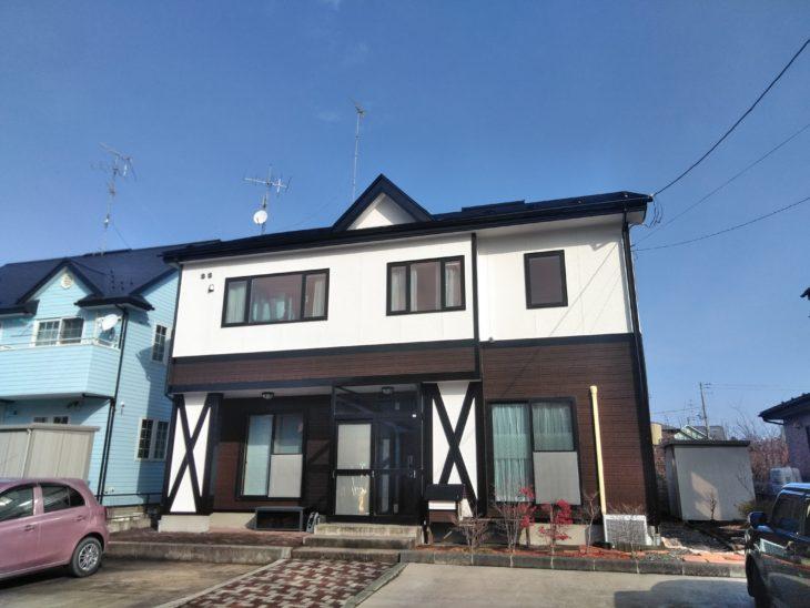 青森県三戸郡階上町 M様邸屋根外壁塗装工事