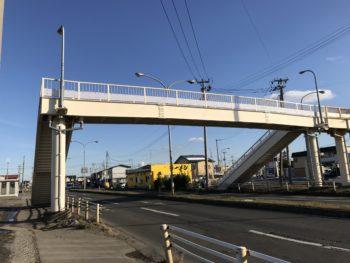 八戸市 根岸歩道橋