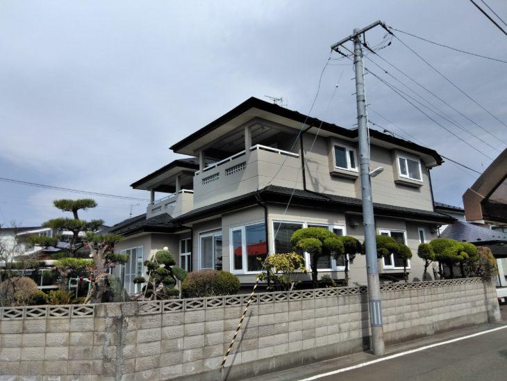 八戸市S様邸屋根外壁塗装工事