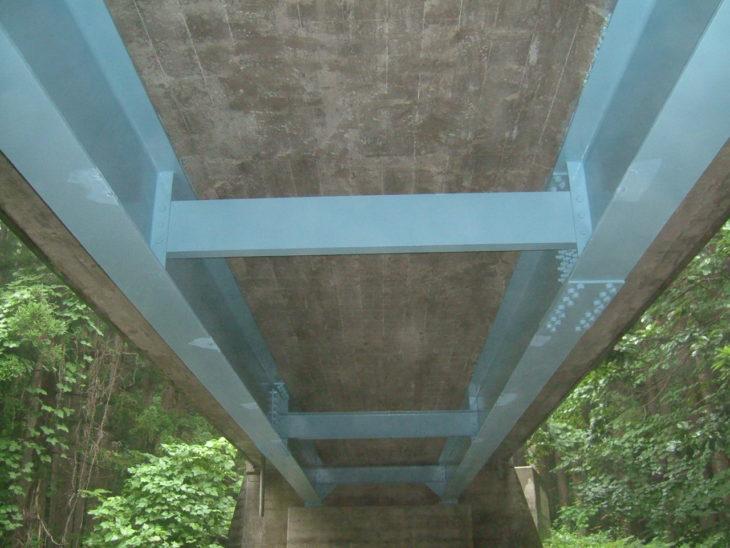 薬研佐井線橋梁補修対策(下の橋)工事