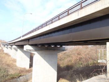 鯵ヶ沢 砂山橋 塗装工事