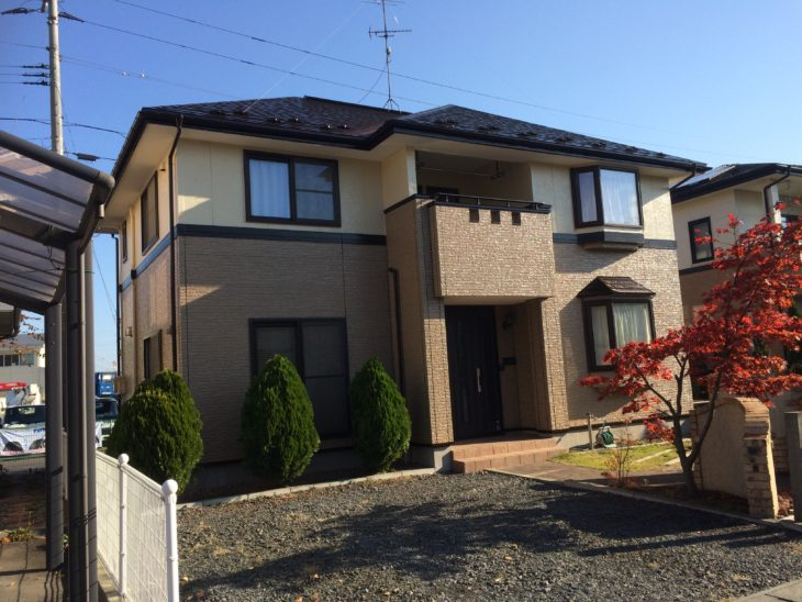 【塗装工事】八戸市M様邸 屋根・外壁塗装工事/クリヤー塗装