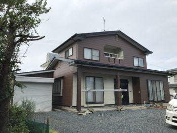 【塗装工事】八戸市S様邸 屋根外壁塗装