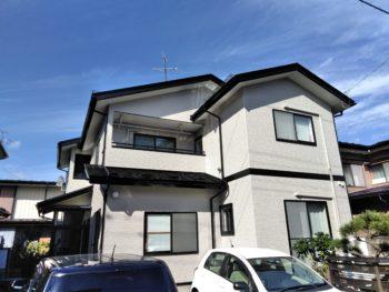 八戸市T様邸屋根外壁塗装工事