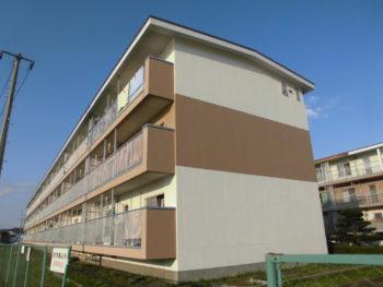 【塗装工事】H市 市営住宅外壁修繕工事