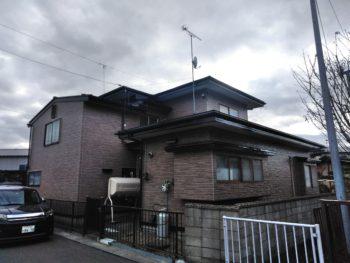 N様邸屋根外壁塗装工事/青森県/おいらせ町/塗装