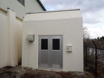 【塗装・防水工事】 N水質自動観測所