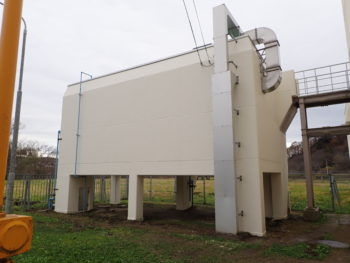 【塗装・防水工事】 KJ水質自動観測所