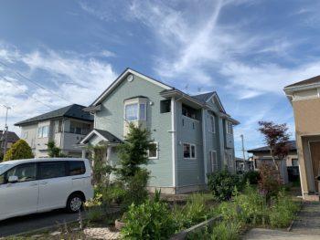 M様邸屋根外壁塗装工事/青森県/おいらせ町/塗装工事/カラーシュミレーション/見積無料
