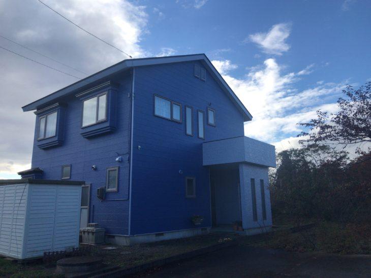 O様邸屋根外壁塗装工事/青森県/おいらせ町/塗装工事/高耐久/カラーシュミレーション