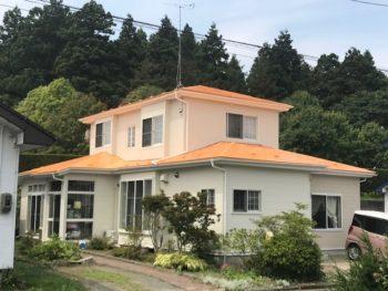 【おいらせ町】W様邸 屋根外壁塗装工事