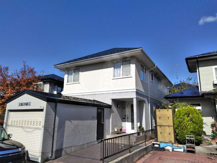 八戸市M様邸屋根外壁塗装工事