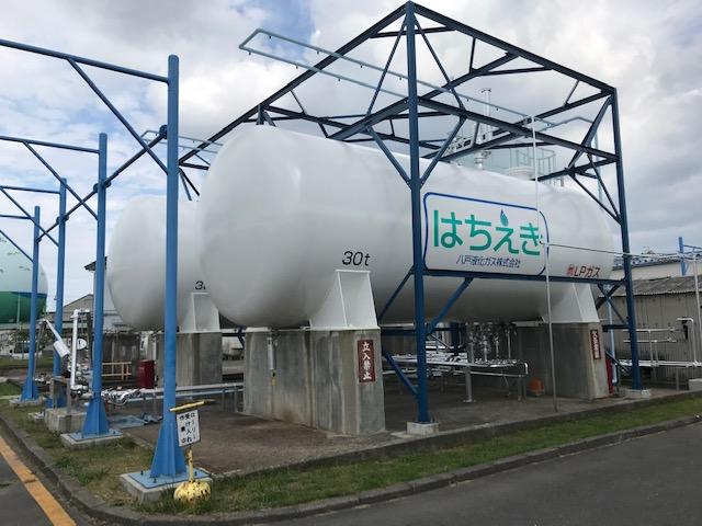 H様 ガスタンク塗装工事