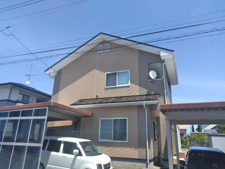 M様邸屋根外壁塗装工事/塗装工事/クリヤー塗装