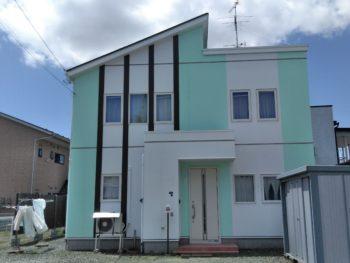 M様邸屋根外壁塗装工事/八戸市/外装工事/高耐久