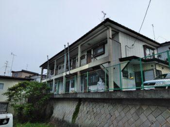 Tアパート漏水修理工事/八戸市/雨漏り/屋根外壁塗装