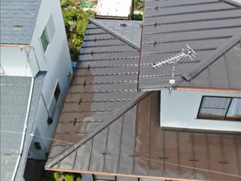 八戸市 S様邸屋根塗装工事