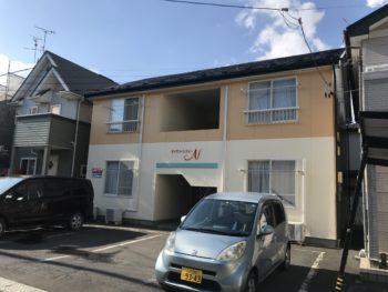 八戸市 K様 アパートN屋根外壁塗装工事  無機塗装
