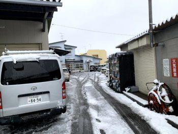 【八戸】今シーズン初の積雪ですね! 外壁塗装|屋根塗装|雨漏り|外装リフォーム|塗装業者