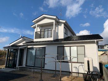 F様邸屋根・外壁塗装工事/青森県十和田市/適正価格/感動品質