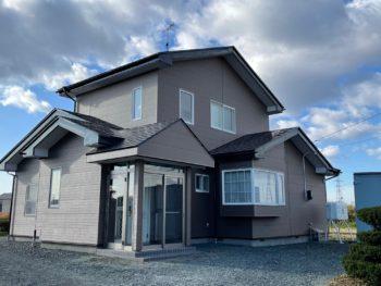 A様邸 外壁重ね貼り及び屋根塗装工事 / 青森県八戸市 重ね貼り 塗装