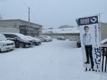 【八戸】また雪が降りました… 外壁塗装 屋根塗装 雨漏り 外装リフォーム 塗装業者