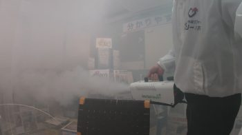 【八戸】コロナ対策で完全除菌をショールームと事務所内で行いました!! 外壁塗装 屋根塗装 雨漏り 外装リフォーム 塗装業者