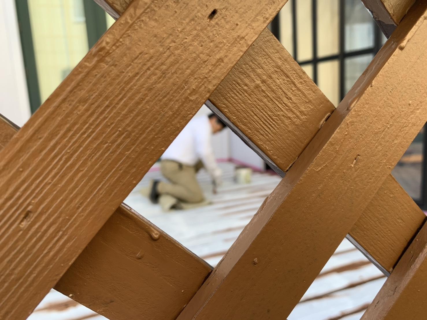 【八戸】ウッドデッキ② 外壁塗装|屋根塗装|塗装業者|塗装屋|塗装会社