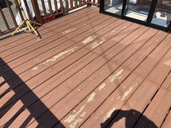 【八戸】ウッドデッキ補修塗装 外壁塗装 屋根塗装 塗装業者 塗装屋 塗装会社
