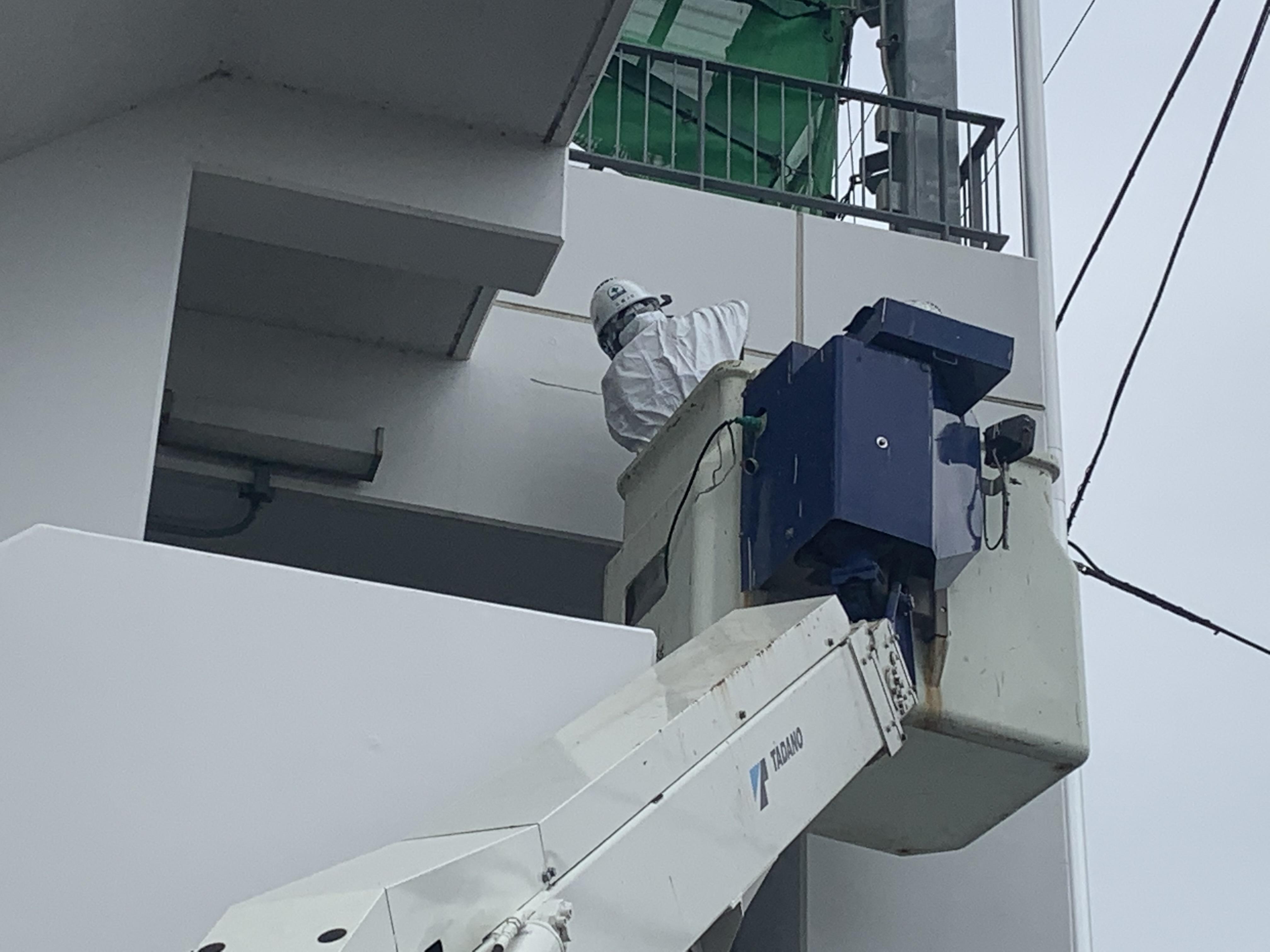 【八戸】高所作業車 外壁塗装 屋根塗装 塗装業者 塗装屋 塗装会社