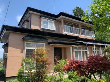 【八戸】M様邸 屋根外壁塗装工事
