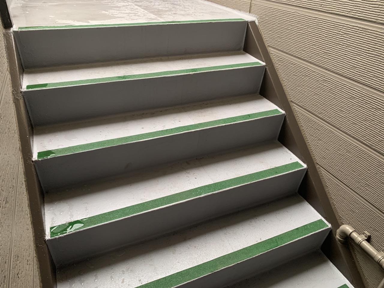 【八戸】アパート鉄骨階段防水工事③その後 |屋根塗装|塗装業者|塗装屋|塗装会社