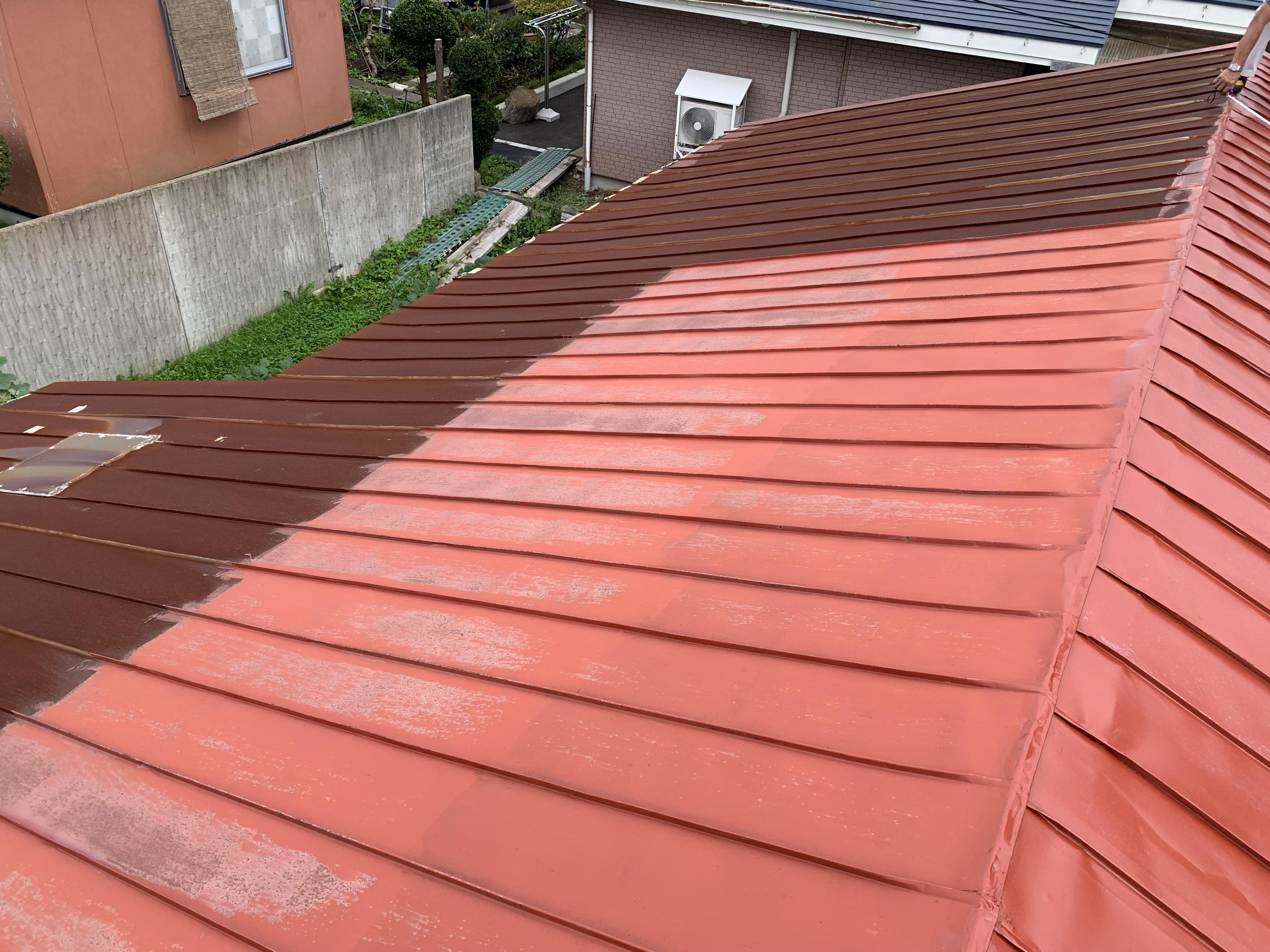 【八戸】屋根塗装が完了しました! 外壁塗装|屋根塗装|塗装業者|塗装屋|塗装会社